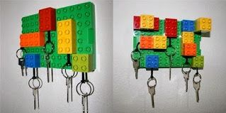 DIY - Support clés en legos