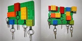 DIY - Support clés en legos