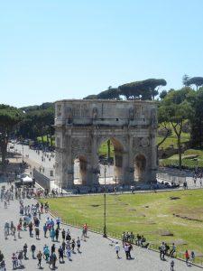Arche à côté du Colisée - ROME