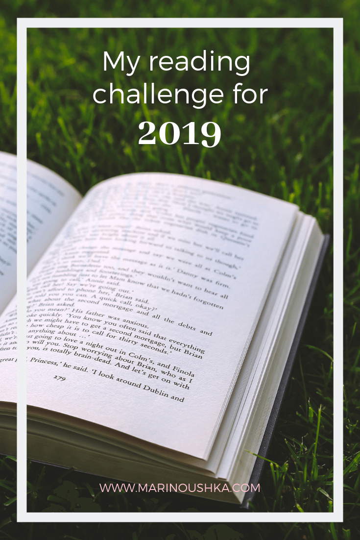 Marinoushka - Reading challenge 2019