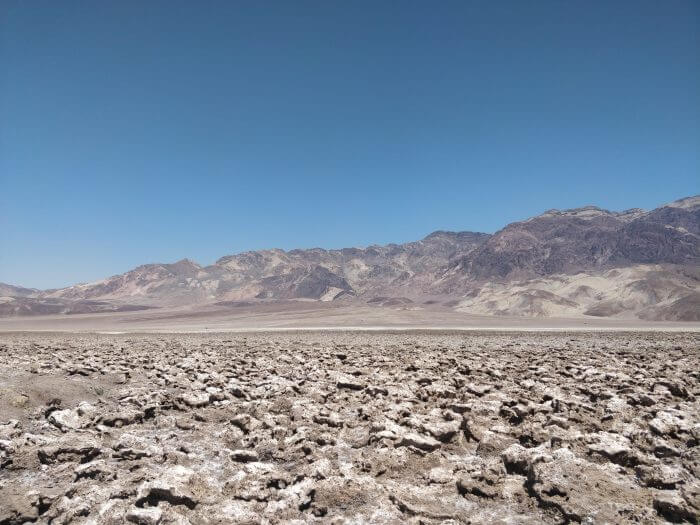 Devil's golf course - Death Valley