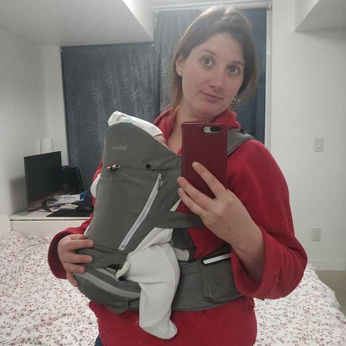 5 conseils - Le porte-bébé - Marinoushka blog