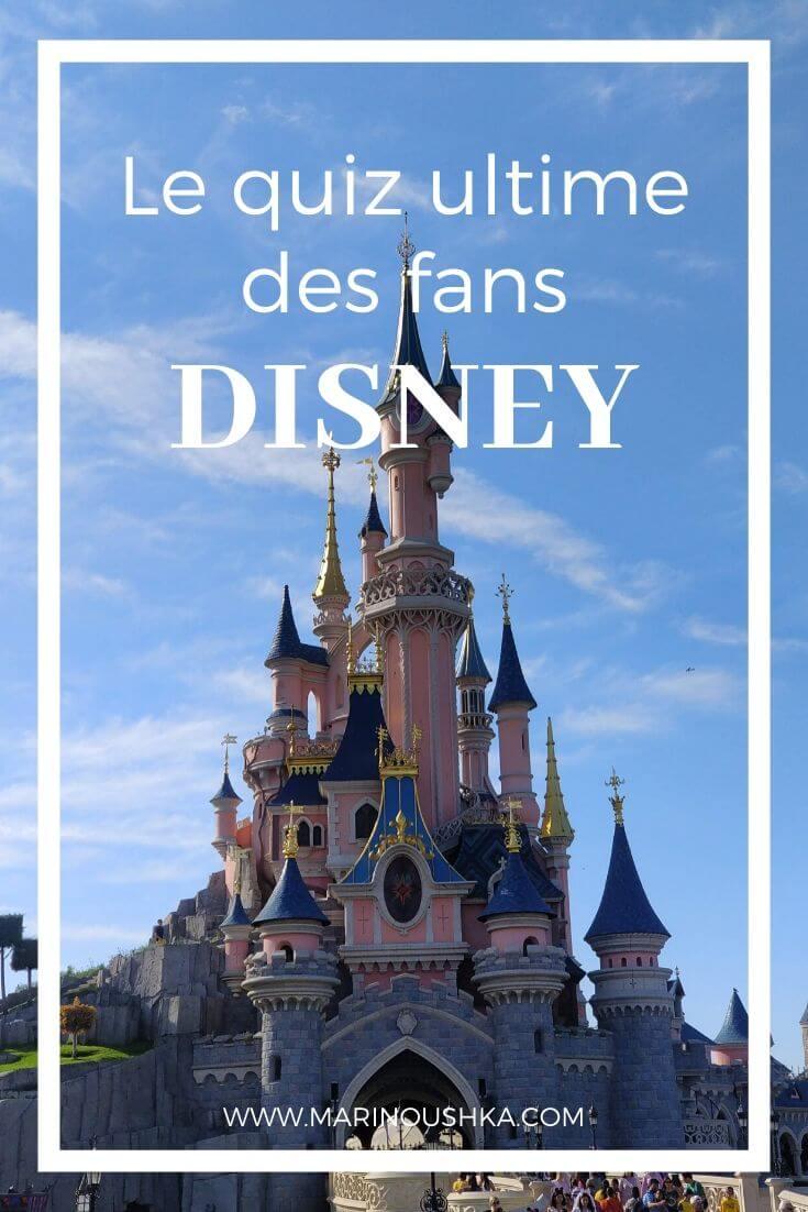 Quiz Disney - Tag Disney - Marinoushka
