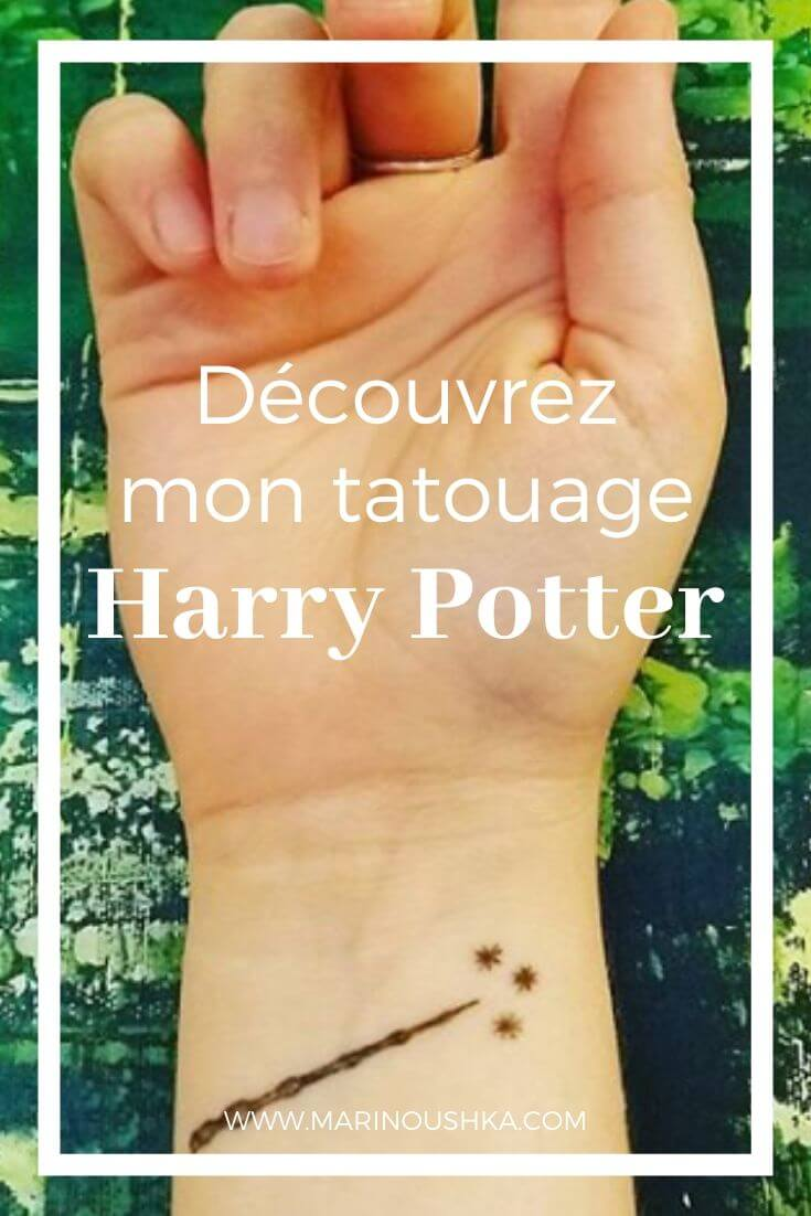Pinterest - Tatouage Harry Potter - Marinoushka