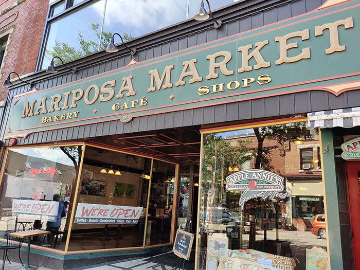 Le Mariposa Market à Orillia - Marinoushka
